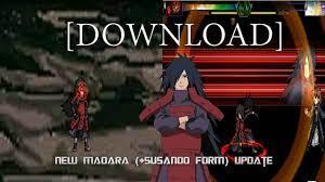 New Madara Uchiha (+Susanoo Form) Update   Bleach VS Naruto 3.3 Character  [DOWNLOAD] - YouTube