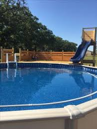 Above ground pool slide It turned out great and the kids love it