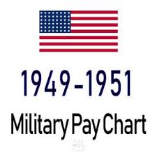 1949 1951 Military Pay Chart