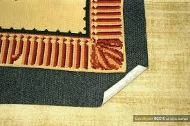 rug pad 8x10 felt and rubber
