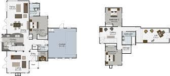 hi 3 bedroom 2 y house plan landmark homes builders nz