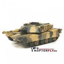 <b>Радиоуправляемый танк Heng</b> Long 1/24 Battle M1A1 ABRAMS RTR
