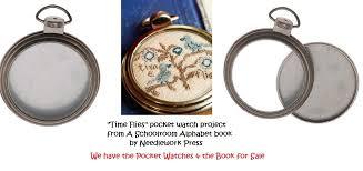 pocket watch frame pendant 2 cross stitch and 50 similar items a schoolroom alphabet pocket watch project 2