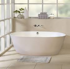 best bathroom design ideas with white oval freestanding bathtub and for stunning wall mount faucet for