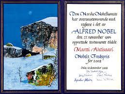 martti ahtisaari nobel diploma nobel diploma