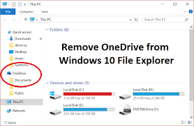 How To Delete Onedrive From Windows 10 Disable Onedrive On Windows 10 Pc Troubleshooter