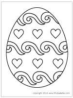 Small Picture Free Printable Easter Eggs Coloring Pages Yellow Birthday