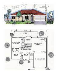 car garage southwest house plans