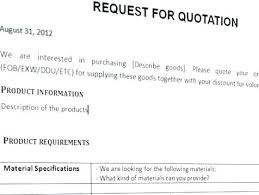 Services Quotation Template Written Quotation Template Business Commercial Cleaning
