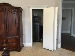 make bookshelf door closet the geek pub bookcase secret hinge open kids bedroom furniture wall