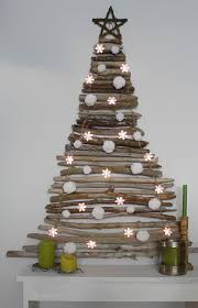 dry wood christmas tree