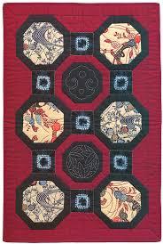 "Japanese fabric: quilt patterns, motifs, sashiko, more - Stitch ... & Japanese Octogonal Block Quilt "" Adamdwight.com"