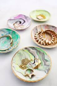 crafts to make and marbled clay ring dish cool and craft projects