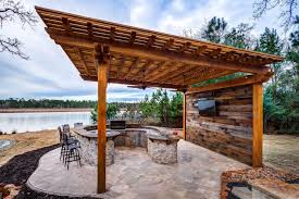 simple outdoor kitchen plans floor to ceiling windows white elegant gloss island glossy cream floor single