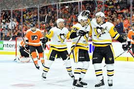 flyers vs penguins history penguins plow over flyers in a 5 1 laugher phillyvoice