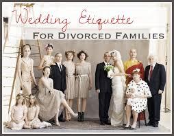 divorced parents wedding invitation. wedding etiquette for divorced parents invitation g
