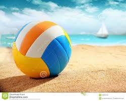 beach ball on beach. Colourful Beach Ball On The Sand L