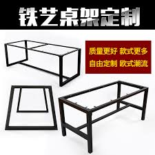 get ations big board tables custom wrought iron bracket legs legs legs deskstands iron hob office desk sets