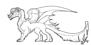 dragon pictures to print and color. Plain And Luxury Dragon Picture To Color Coloring In Tiny Arctic Lineart  By Javen On DeviantArt Print Intended Pictures And I