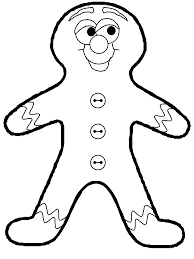 Christmas Gingerbread Man Coloring Pages Get Coloring Pages