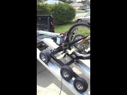 Motorcycle loader for bed pickups - YouTube