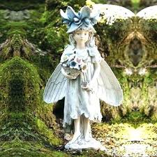 garden fairy statues. Garden Fairy Statues Pixie Statue Ethereal Forest Bountiful