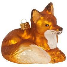 Weihnachtskugel Figur Fuchs Hochwertiger Christbaumschmuck Für Eine Ausgefallene Weihnachtsdekoration Hier Im Onlineshop Kaufen