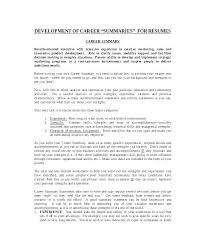 What Is The Summary In A Resume How To Write An Amazing Resume
