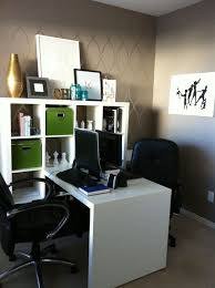 home office shared desk idea modern. brilliant desk beautiful yet modern ikea home office ideas  dazzling grey wall decal  with inside shared desk idea a