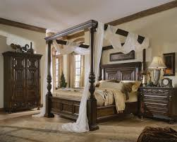 Elegant California King Canopy Bed with Canopy Bed Sets King ...