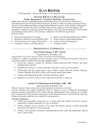 Product Manager Resume Sample Resume Samples