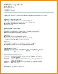 Sample Dental Hygienist Resume Objectives Example Assistant Resumes ...