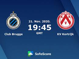 Club Brugge KV Kortrijk Live Ticker und Live Stream - SofaScore