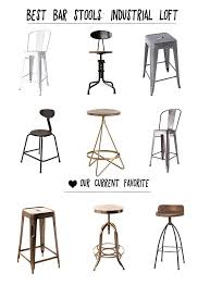 best bar stools. Best Industrial Style Bar Stools P