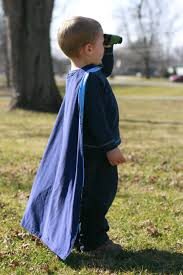 Childs Cape Pattern Mesmerizing Child's Cape Pattern Tutorial There Is A Little Boy I Know Who
