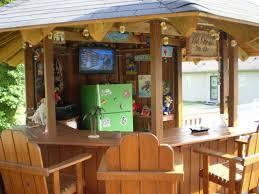 diy tiki bar by above ground pool My Tiki Bar A cool place to