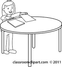 student desk clipart black and white. student-at-desk-with-papers-outline.jpg student desk clipart black and white d