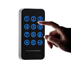 Electronic Cabinet Lock Kit Set, Digital Touch Keypad Lock ...