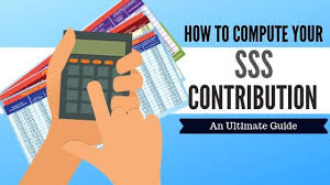 sss contribution table 2021 with
