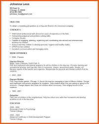 5 Day Care Worker Resume Iwsp5