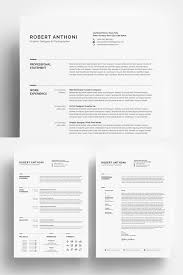 Photographer Resume Template Cool Clean Resume DesignerDeveloperPhotographer Resume Template 48