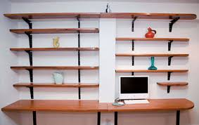 Office shelf ideas Wall Shelves Living Room Home Office Shelving Ideas With Elegant Fice 16 Interior Design Modern Doragoram Home Office Shelving Ideas Unique How To Set Up Home Filing System