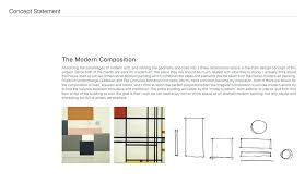 concept statement interior design. Contemporary Interior Design Concept Statement Residential Modern Composition Writing An