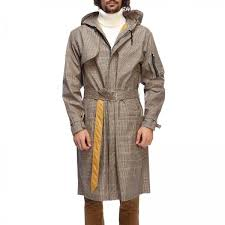 trench coat men danilo paura beige