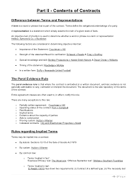 Terms And Agreement Contract Detail Simple Business Form Template