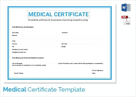 Medical Certificate Template Unique Sample Medical Certificate Template For Sick Leave Saleonline