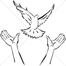 dove flying clipart. Interesting Dove Hands Releasing Dove Intended Flying Clipart G