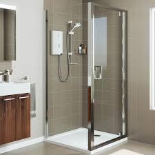 pivot door shower enclosures plumbworld roman lumin8 900 x