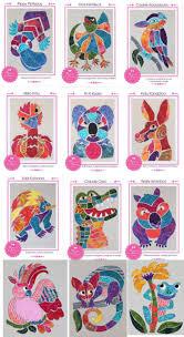 Animal Applique Designs Aussie Animals Applique Pattern Sets