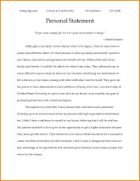 Personal Statement For College Writing Personal Statements For University Applications Personal